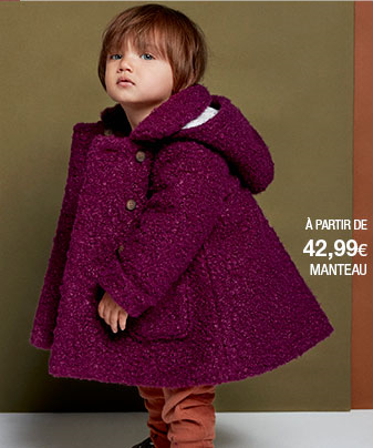 MONOPRIXのコート(子供服のフランス個人輸入代行・転送サービス)