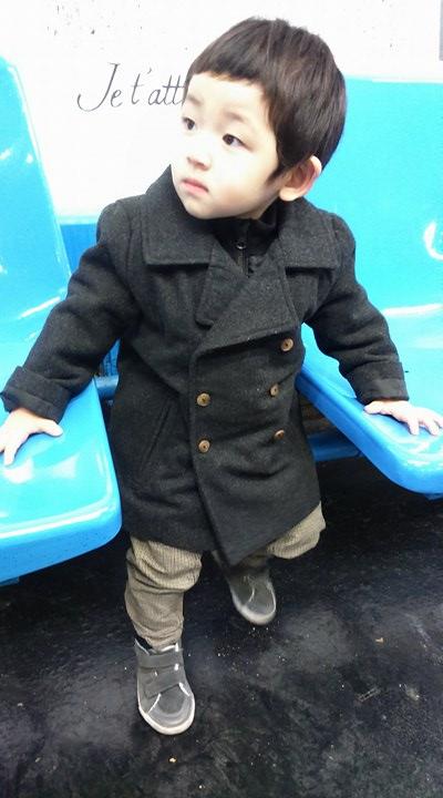またまたMONOPRIXのコート(子供服のフランス個人輸入代行・転送サービス)